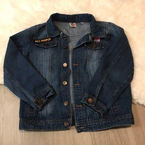 Junk Food Clothing The Beatles Blue Jean Jacket XL